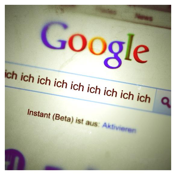 Google: glauben ist sehen...